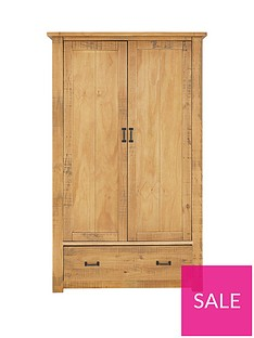 albion-2-door-1-drawer-solid-pine-wardrobe