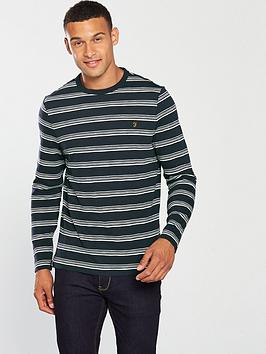farah-ballater-long-sleeve-strip-t-shirt
