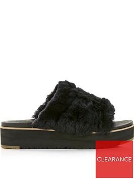 ugg-ainsley-fluff-yeah-sandals-black