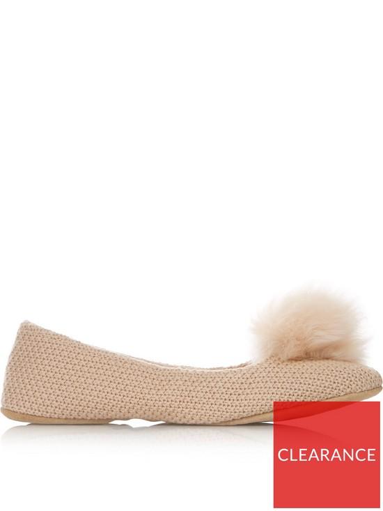 94315749d UGG Andi Pom Pom Slippers - Nude | very.co.uk