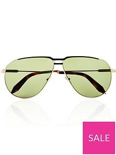 victoria-beckham-jet-set-aviator-sunglasses-green