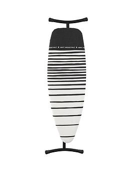 brabantia-ironing-board-d-extra-large-135-x-45-cm-with-heat-resistant-parking-zone-black-frame