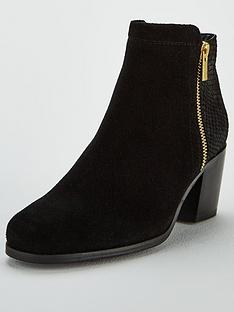carvela-sabel-side-zip-snake-detail-ankle-boot-black