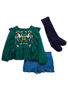 mini-v-by-very-girls-embroidery-ruffle-top-short-and-tights-outfit-green