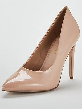 Miss Kg Cayleb High Point Court Shoe - Nude