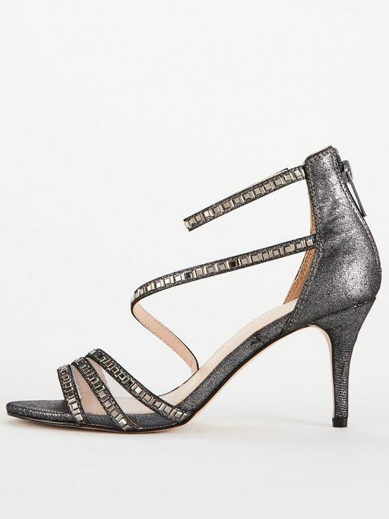 ff21c5f69eb3 ... Carvela Liquor Baguette Mesh Heeled Sandal - Pewter. View larger