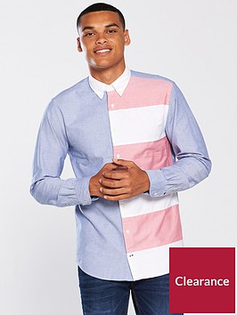tommy-hilfiger-cut-and-sewn-flag-design-shirt-multicolour