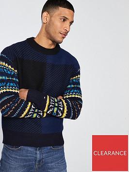 tommy-hilfiger-tommy-hilfiger-fairisle-check-knitted-jumper