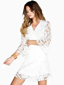 girls-on-film-travis-lace-panel-wrap-dress-white