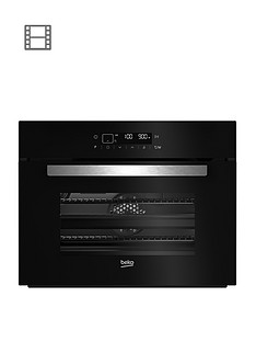 beko-bcw14400b-60cm-built-innbspmulti-functionnbspoven-microwave-black-with-optional-installation