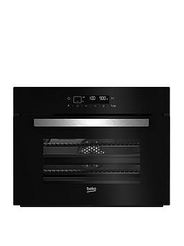 Beko Bcw14400B 60Cm Built-In Multi-Function Oven Microwave – Black  – Oven With Installation