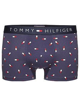 Tommy Hilfiger Mini Flag Trunk, Navy, Size S, Men thumbnail