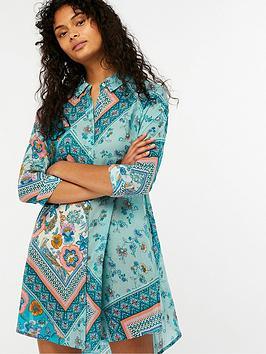 monsoon-mariana-shirt-dress-multi