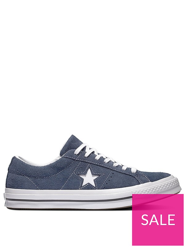 One Star Suede Ox NavyWhite