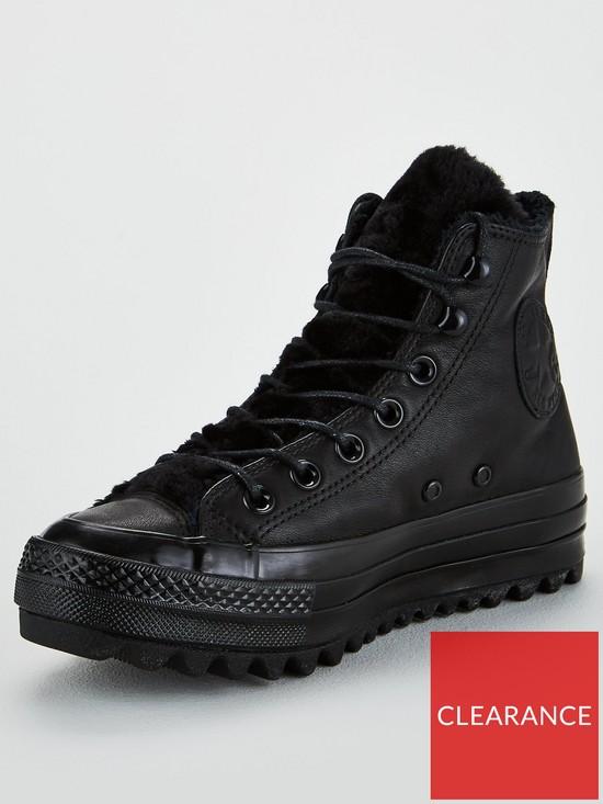 0a74687c780 Converse Chuck Taylor All Star Lift Ripple - Black