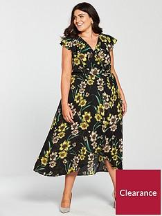 v-by-very-curve-rufflenbspwrap-hi-low-maxi-dress-print