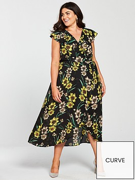 v-by-very-curve-rufflenbspwrap-hi-low-maxi-dress-print