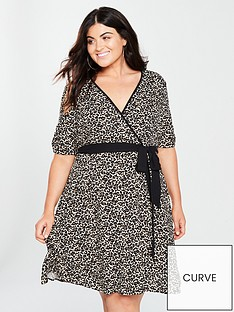 v-by-very-curve-wrap-dress--nbspanimal-printnbsp