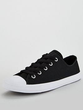 Converse Chuck Taylor All Star Dainty Ox - Black/White