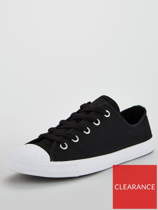 c5bc3726728 Converse Chuck Taylor All Star Dainty Ox - Black White