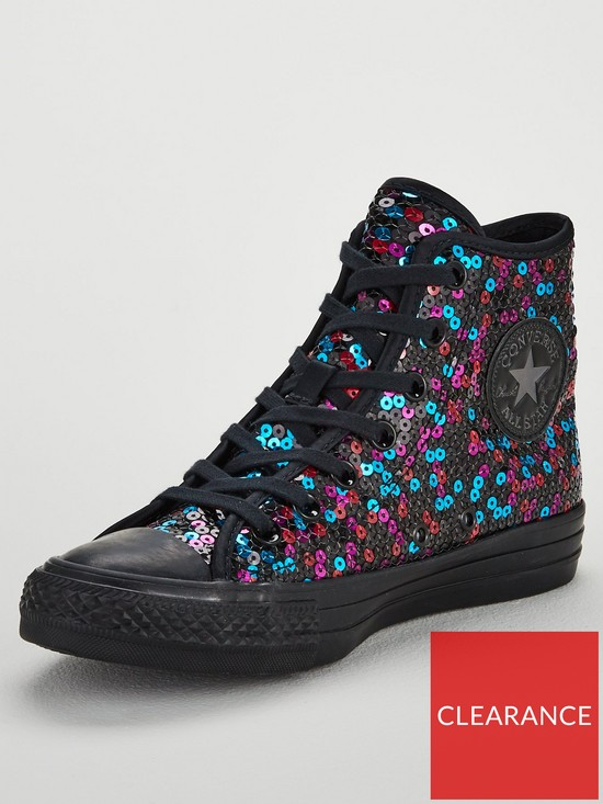 7a9b26f540d8 Converse Chuck Taylor All Star Sequin Hi - Multi