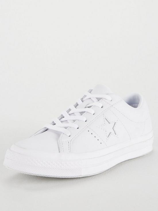 a98456203f40 Converse One Star Leather Ox