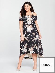 v-by-very-curve-bardot-dipped-hem-dress
