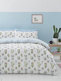 catherine-lansfield-cactus-duvet-cover-and-pillowcase-set