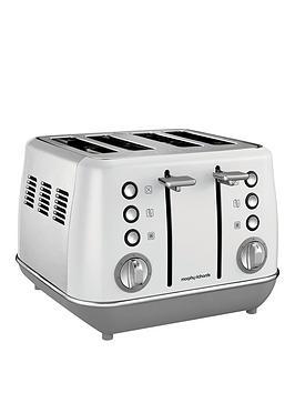 Morphy Richards Evoke 4 Slice Toaster White thumbnail