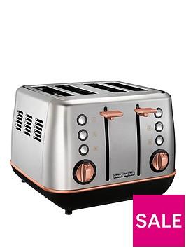 morphy-richards-evoke-4-slice-toaster-brushed-rose-gold