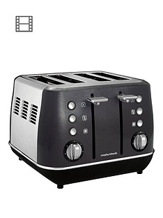 morphy-richards-evoke-4-slice-toaster-black