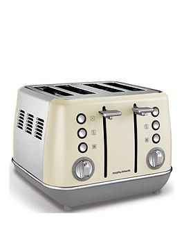 morphy-richards-evoke-4-slice-toaster-cream