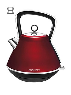 morphy-richards-evoke-pyramid-kettle-red