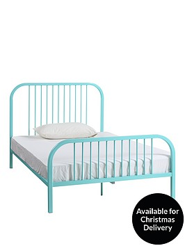 harper-metal-small-double-bed-frame-mint