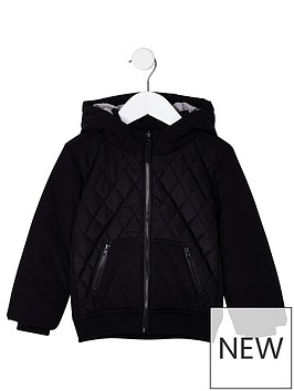 river-island-mini-boys-black-diamond-padded-jacket