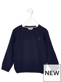river-island-mini-boys-blue-knit-wasp-embroidered-jumper