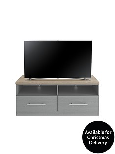 Consort SevilleReady Assembled TV Unit - fits up to 55 inch TV