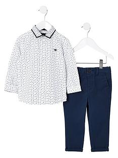 river-island-mini-boys-white-ditsy-print-shirt-outfit