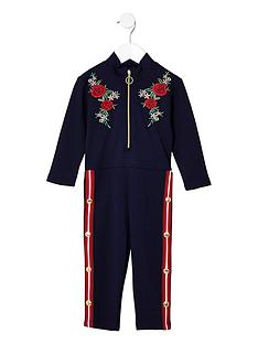 river-island-mini-girls-navy-floral-popper-side-jumpsuit