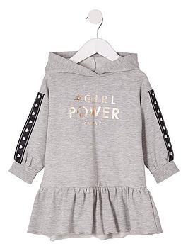 river-island-mini-girls-grey-lsquopowerrsquo-sweat-dress
