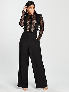 1db95fbdf81 COAST Evie Lace Jumpsuit - Black