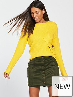 v-by-very-suedette-mini-skirt-khaki