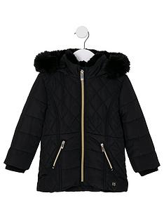 river-island-mini-girls-faux-fur-lined-padded-coat-black