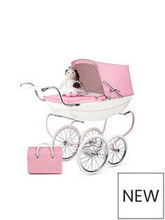 silver-cross-princess-dolls-pram-with-doll-and-bag