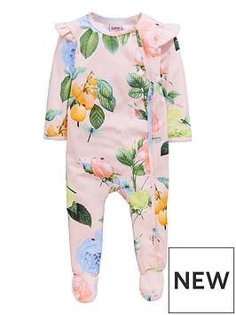 baker-by-ted-baker-girls-rose-printed-sleepsuit