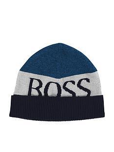 boss-boys-logo-beanie-hat