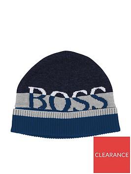 boss-younger-boys-logo-beanie-hat