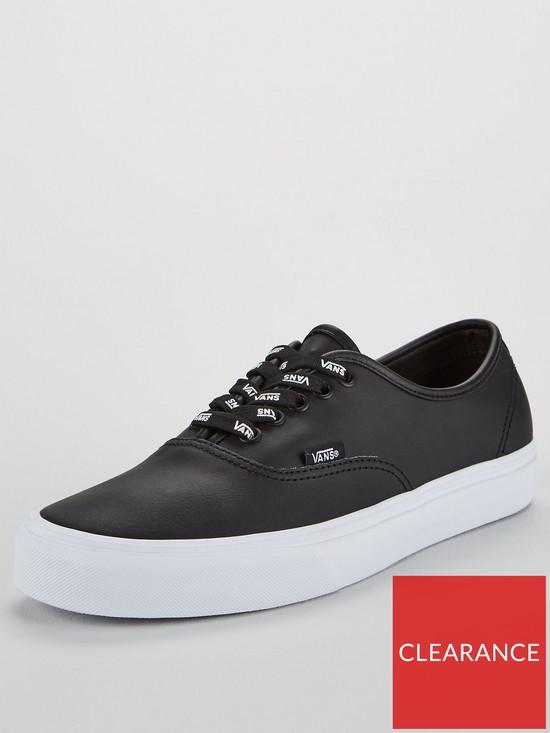Vans Leather Authentic  2d4c4b463