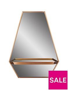 ideal-home-hexagonal-shelf-mirror