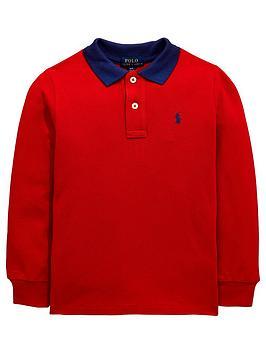 ralph-lauren-boys-long-sleeve-contrast-collar-polo-shirt-red